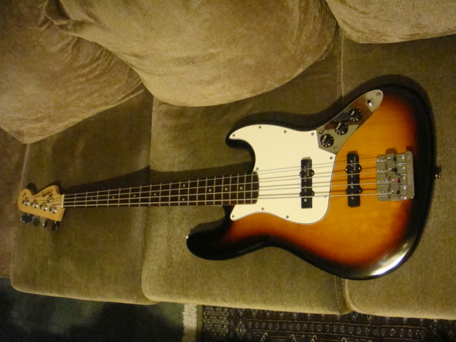Updated Jazz Bass